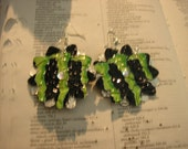 Recycled Monster Can can Earrings