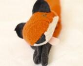 Custom Animal Faux Taxidermy scarf- one of a kind