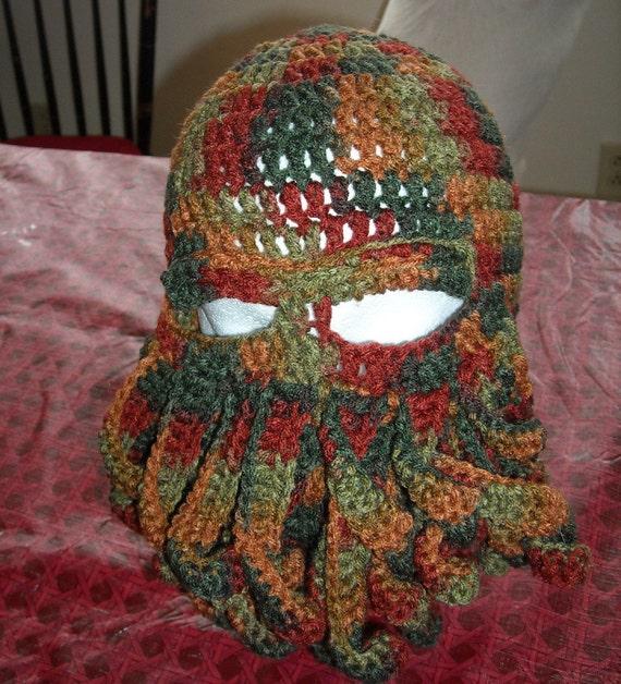 Camouflage Cthulhu Ski Hat