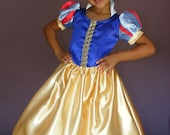 Snow White Costume for Girl Sizes 2t - 5