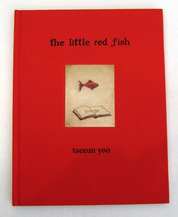 custom order - The Little Red Fish signed book for James Brown
