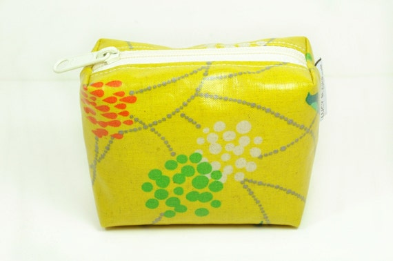 Yellow Purse Pouch