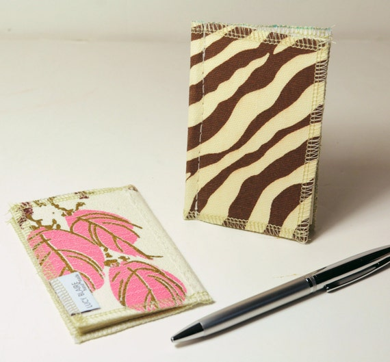 CLEARANCE Blank Pocket Journal Set