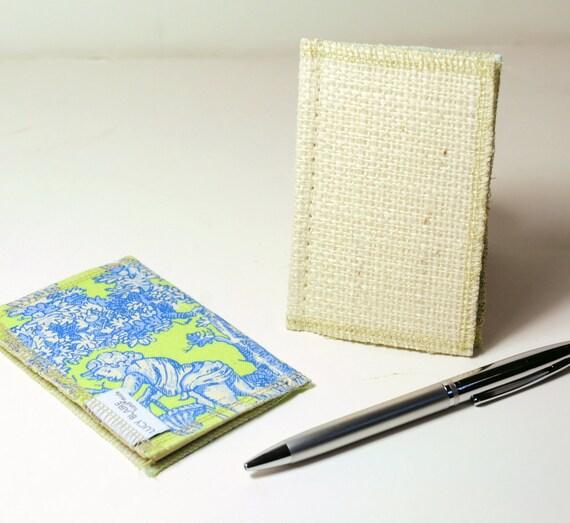 CLEARANCE Blank Pocket Journal Set