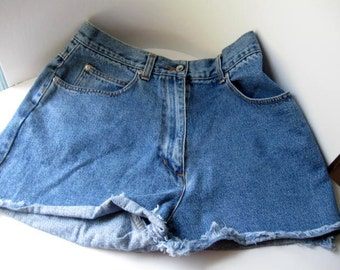 Woman's Cut off Jeans Upcycled Jeans- Willi Smith Size 12