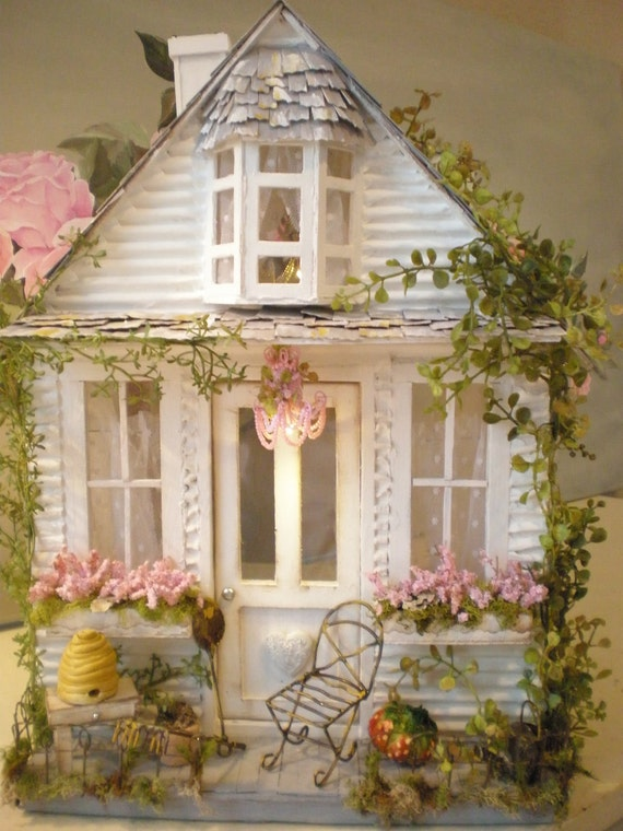 Sprinkled With Love Cottage Custom Dollhouse