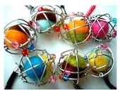 Party Favor, Nickel, Atomic Ball, felt ball, felt pom pom, atom, ball, charm, mobile, kid, boy, girl, toy, party, keychain, easter, spring
