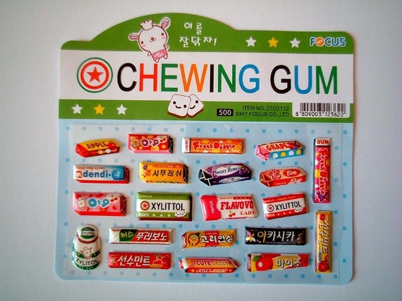 Cute stickers, Kawaii Stickers, chewing gum, strawberry, cola, apple, card decoration, journal decoration, children, discounted, SALE, cheap