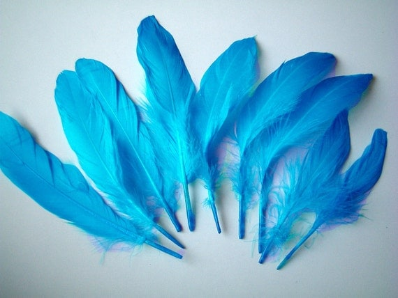 RESERVED listing -- artificial feathers