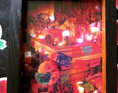 Cyber Sale- Day of the Dead   Altar and  Shrine- So colorful with original photograph