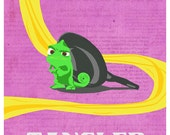 Disney's TANGLED Original Poster Design