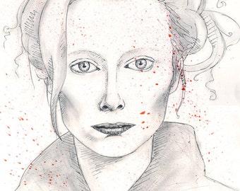 Tilda Swinton Original Portrait