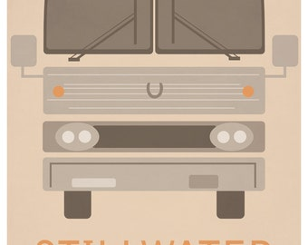 ALMOST FAMOUS Stillwater Gig Poster