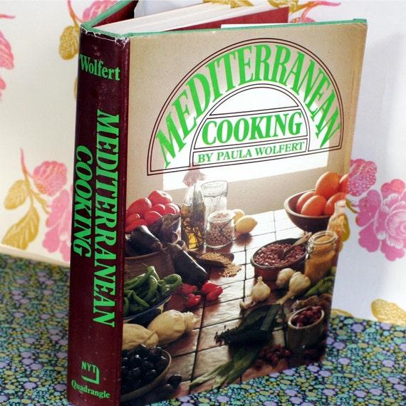 Vintage Mediterranean Cooking Cookbook MIddle Eastern Jewish Israeli  Wolfert