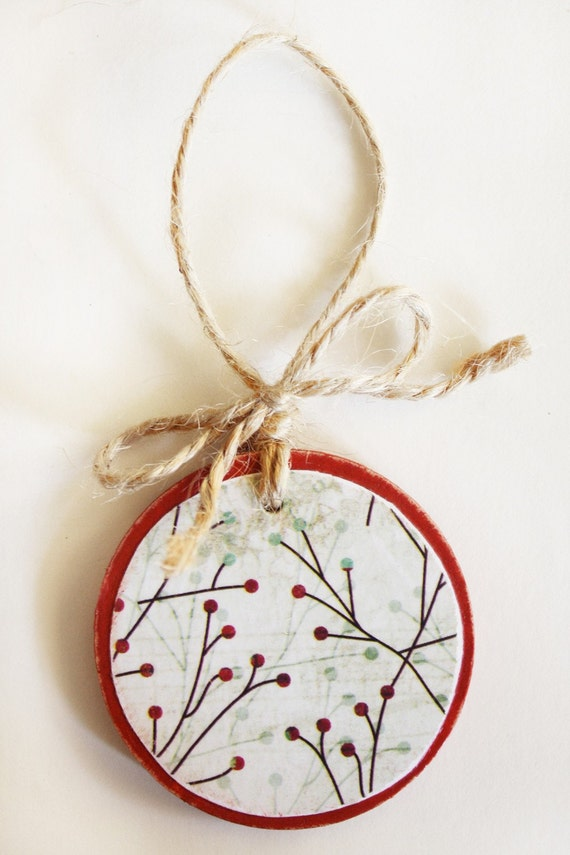 Holly Jolly Christmas. Ornament