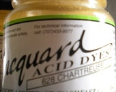 Jacquard Acid Dye 628 Chartreuse 1/2 oz bottle