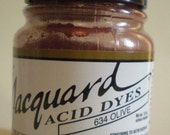 Jacquard Acid Dye 634 Olive Half ounce Bottle