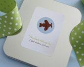 Bookplates - You Pick Round Illustration