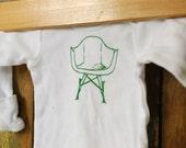 eames rocker onesie