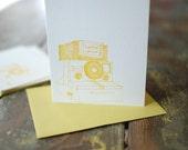 SINGLE CARD - polaroid