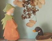 Waldorf Doll / Mrs Hazelnut/ Woody, Hazel  & Little Pip - Elsa Beskow /  Nature Table