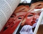 Set of two bookmarks. Marilyn Monroe audrey hepburn sixties glamour