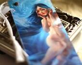 Swimming with Jellyfish. octopus underwater mermaid nude fantasy