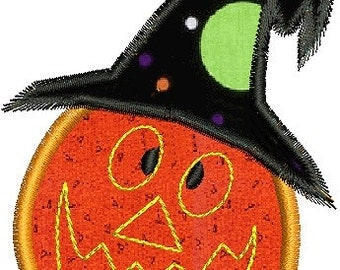Set of 10 Halloween Applique Machine Embroidery Designs Instant Download Sale
