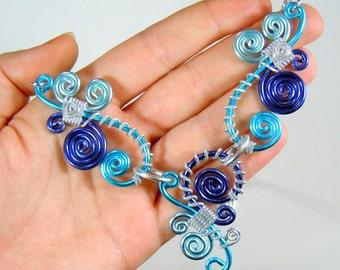 Dancing Dangles Adjustable Necklace