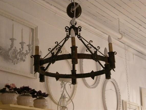listing for poohloveit antique shabby chic castle chandelier large cottage