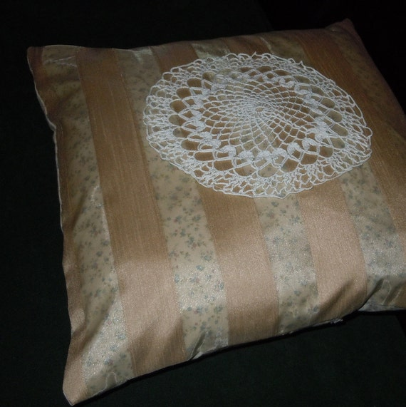 Etsy Large Floor Pillows : Items similar to Pillow COVER - Large size, accent or floor pillow cover, Christopher Lowell ...