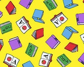 Tossed Books in Yellow, Busytown A to Z