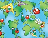 Big World, Veggie Tales - How in the World