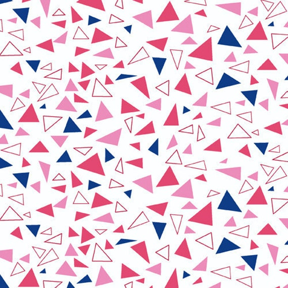 Triangles in Pink, Outfoxed by Lizzy House