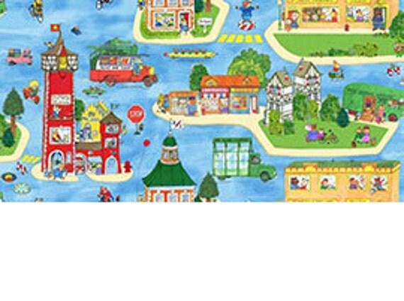 Town, Busytown A to Z