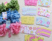 DIY Mini Banner or Tag Kit - Garden Party