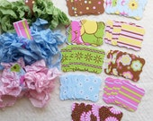 DIY Mini Banner or Tag Kit - Bloom