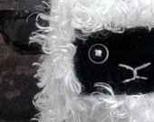 Ghost Sheep- walking/ leash/ treat/poop bag holder with hole for headphones