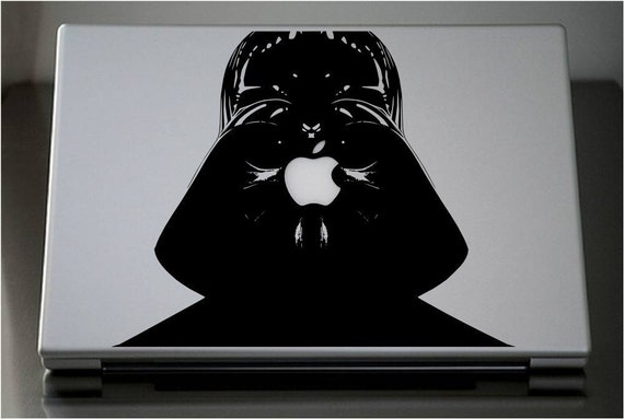 Reserved order for Swackattack--Darth Vader MacBook Pro Laptop MacJac, vinyl sticker decal by Lana Kole