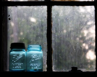 no preservatives. 8x10 photograph. mason jars.