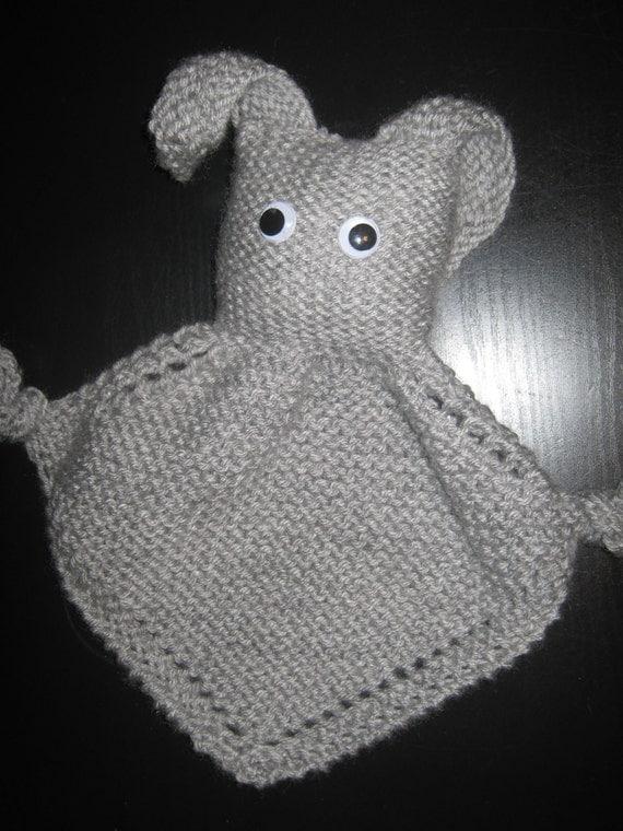 Bunny Blanket Buddy Knit Pattern : Knit Blanket Buddy Bunny by shaeknits on Etsy