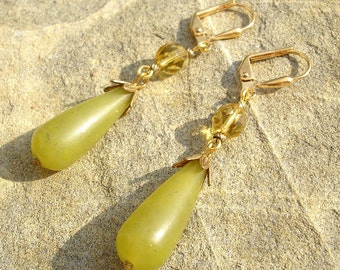 Olivine Dream Earrings - Free Shipping within the U.S.