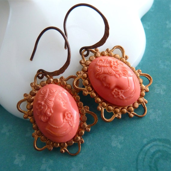 Earrings Vintage Vamp a French Romance