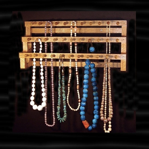 18 Inch Large Necklace Holder W\/1 Inch Pegs