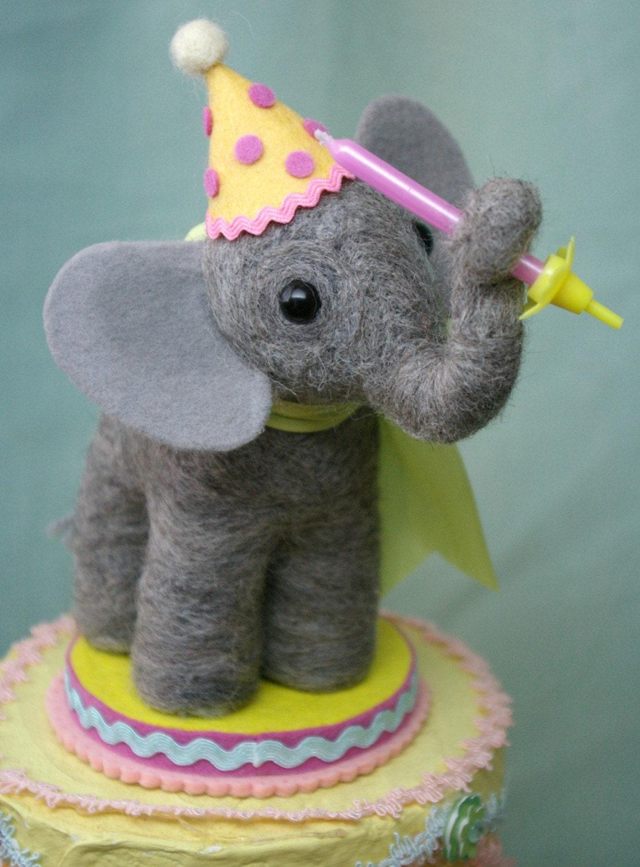 Circus elephant cake topper - photo#12