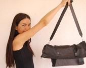 Pepa Leather. backpack, shoulder.