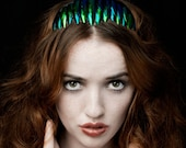 The Art Deco Style Beetle Wing Headpiece