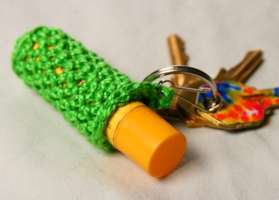 Keychain Lip Balm Holder