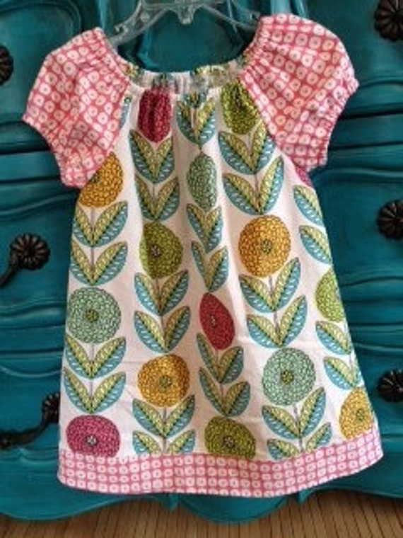 Tender Heart Peasant Dress..... Ready for delivery....Sizes 4T, 5, 8