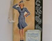 Vintage-Inspired Luggage Tag